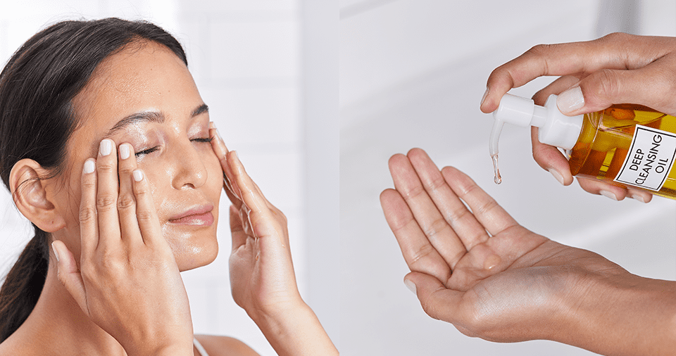 Deep Cleansing with Oil