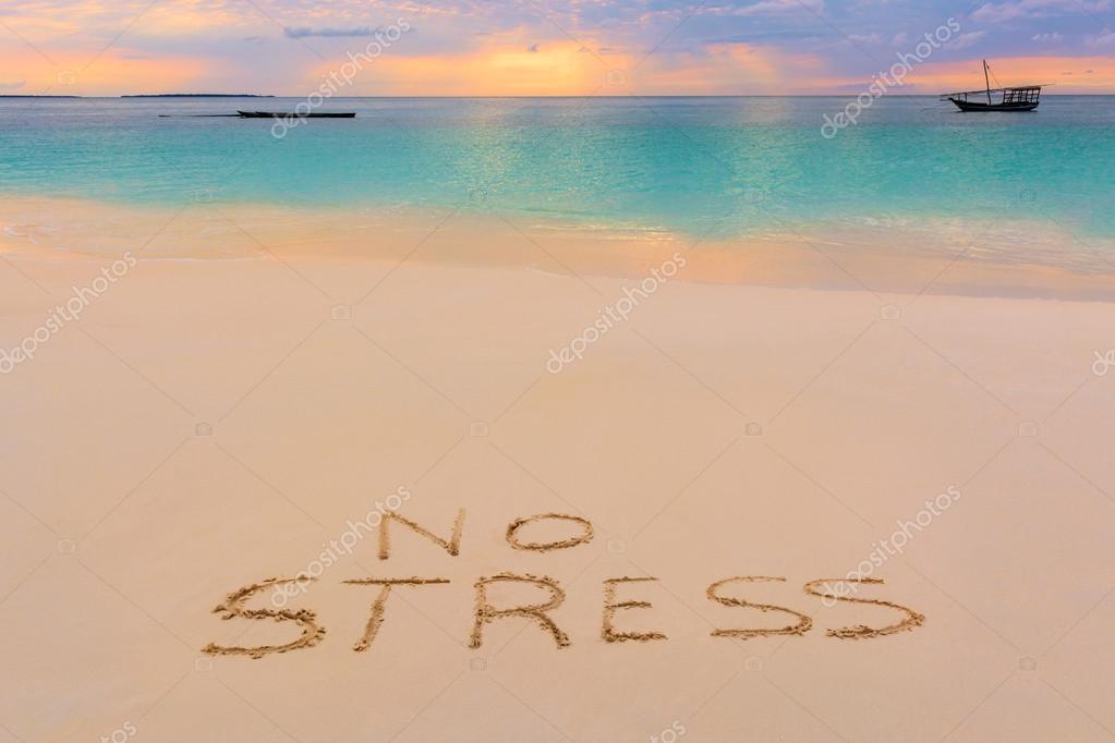 take no stress